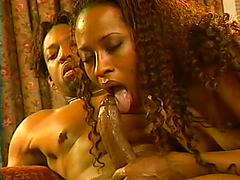 Janet Jacme Gets Both Holes Filled WIth Thick Black Cock