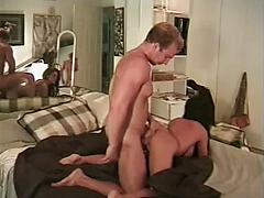 Skinny Ass Big Tit Girl Getting Her Puss Tore Up By Huge Cock