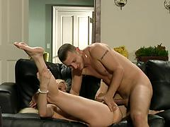 Sexy Blonde Playing With Her Pussy Before Getting Fucked