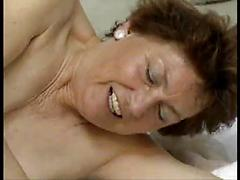Mature Brunet Ends Up Fucking The Poolboy