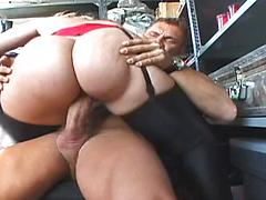 Hot Blonde Showing Off Her Hot Big Ass On Camera