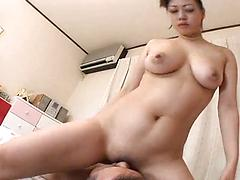 She Rides His Face Long And Hard With A Nice Ass