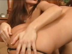 Ann Marie And Alyssa Rub And Grind On Each Other