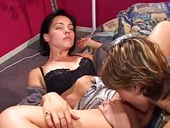Cute Lesbians Try Anal And Take A Pounding