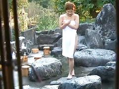 Hidden Camera Shows Girl Getting Naked Then Skinnydipping