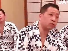 Watch This All Out Jap Gangbang Fuckfest