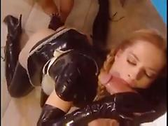 Rubber fetish submission