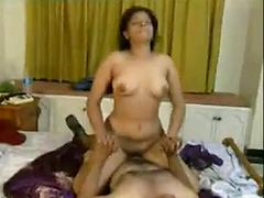 Indian mallu actress enjoying with coster