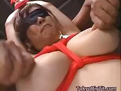Big titty nana gets those boobs worked part 4
