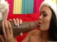Maya gets a lump of cock for x-mas p.4