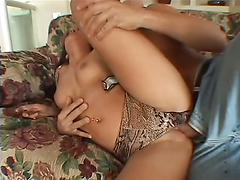 Asian girl gets assfucked anal very rough