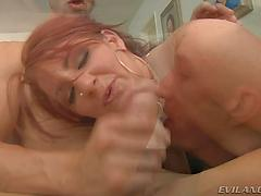 Magnificent Savannah loves her very first ever double penetration  vignette.