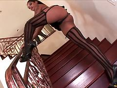 Sweet candy ass model Skin Diamond craves for anal insertion