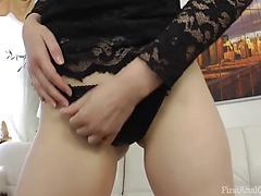 Guy fingers and pokes really hard huge gaping asshole